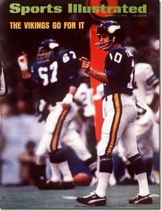 Fran Tarkenton, Football, Minnesota Vikings