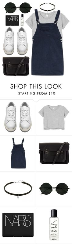 """""""#32"""" by mandyhoran1 ❤ liked on Polyvore featuring Acne Studios, Monki, The Cambridge Satchel Company and NARS Cosmetics"""