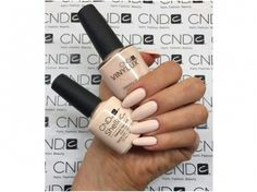 Shellac Nails Fall, Shellac Nail Colors, Cnd Nails, Gel Manicure, Cnd Colours, Oval Nails, Dream Nails, Gorgeous Nails, Nails Inspiration