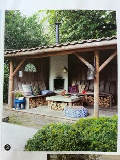 32 incredible and inspiring backyard storage shed design and decor ideas 20 « Diy Best Garden Deko Backyard Gazebo, Backyard Patio Designs, Backyard Landscaping, Rustic Outdoor, Outdoor Fire, Outdoor Rooms, Outdoor Living, Backyard Storage Sheds, Gazebos