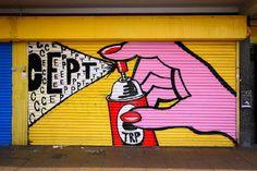 CEPT - Street Artist with a Pop-Art Style