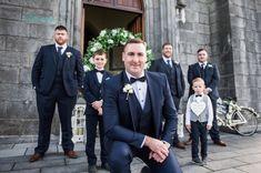 Our groom Eddie and his groomsmen looking dapper in their Dark Blue / Navy Wedding Suits Wedding Gallery, Wedding Blog, Wedding Planner, Blue Suit Wedding, Wedding Suits, Civil Ceremony, Wedding Ceremony, Bride Speech, Groomsmen Looks