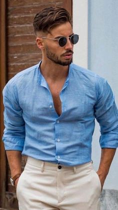 Dots Fashion, Suit Fashion, Fashion Outfits, Fashion Trends, Formal Casual, Casual Wear For Men, Trendy Mens Fashion, Stylish Men, Mode Masculine