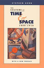 """The Culture of Time and Space, 1880–1918 With a New Preface by Stephen Kern 斯蒂芬·柯恩  OSU 藝術史教授  Painting, """"abandoned the homogeneous space of linear perspective"""" in favor of """"painted objects in a multiplicity of spaces from multiple per- spectives"""""""