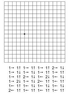 Graphic dictation for developing attention and . Preschool Worksheets, Preschool Learning, Preschool Activities, Teaching, Coding For Kids, Math For Kids, Kindergarten Centers, Math Centers, Drawing Lessons For Kids