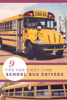 9 tips for first time school bus drivers - how to drive a school bus conversion - skoolie conversion driving tips School Bus Tiny House, School Bus Camper, Bus House, School Buses, School Bus Driving, Magic School Bus, Converted Bus, Buses For Sale, Bus Living