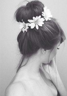 Pretty romantic hair