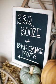 Directional signage to help your guests find your wedding reception. BBQ Booze and bad dance moves. Cute wedding signs you need – 2017 wedding trends. - Directional signage to help your guests find your wedding reception. BBQ Booze a. 2017 Wedding Trends, Wedding 2017, Fall Wedding, Dream Wedding, Wedding Ceremony, Wedding Reception Bbq, Trendy Wedding, Wedding Venues, Reception Signs