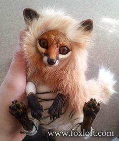 Fox Spirits Art Dolls - WIP Teaser 2 by Foxfeather248 on DeviantArt