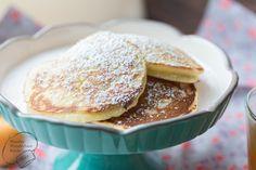 Wonder Wunderbare Küche: Buttermilch-Pancakes mit Fruchtkompott