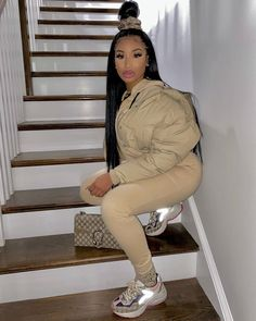 Lit Outfits, Baddie Outfits Casual, Swag Outfits For Girls, Cute Swag Outfits, Cute Comfy Outfits, Dope Outfits, Classy Outfits, Fashion Outfits, Fashion Ideas