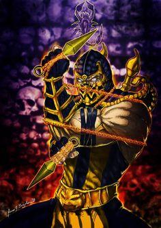 9 of My Mortal Kombat Ninja Collection Enjoy. Scorpion Mortal Kombat, Mortal Kombat Hd, Mortal Kombat Comics, Reptile Mortal Kombat, Xxxholic, Medvedeva, Marvel, Fighting Games, Street Fighter