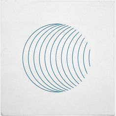 #352 Orbital – This is so simple, just a bunch of circles, moved and masked. Still it is so interesting. – A new minimal geometric composition each day