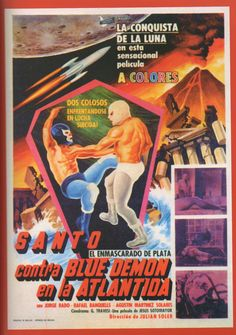 Santo vs Blue Demon en la Atlántida - Check out our podcast https://www.facebook.com/ScreenWolf and https://twitter.com/screen_wolf