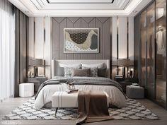 3D Interior Scenes File 3dsmax Model Bedroom 441 By Viet Long Lee – 3Dzip.ORG – 3D Model Free Download Bedroom Bed Design, Home Bedroom, Bedroom Designs, Bedroom Ideas, Bedroom Decor, Modern Luxury Bedroom, Luxurious Bedrooms, Bedroom Color Schemes, Bedroom Colors