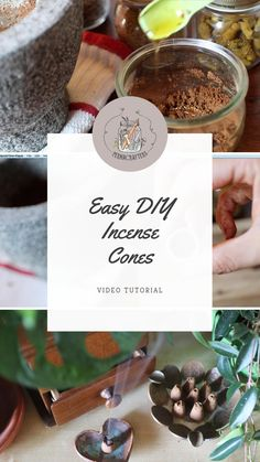 Incense Cones, Incense Sticks, Homemade Incense, Box Noel, How To Make Incense, Marshmallow Root, Herbal Magic, Smudge Sticks, Kitchen Witch