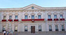 Alcázar de San Juan. Ayuntamiento (antiguo casino)