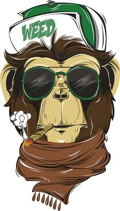 Monkey Hipster Metal Print is part of drawings - Metal Print Monkey Illustration, Hipster Design, Animal Art, Art Drawings, Stoner Art, Drawings, Monkey Logo, Art Wallpaper, Cartoon Art