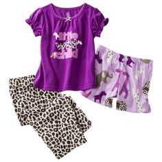 Just One You® by Carter's® Infant Toddler Girls 3-Piece Pajama Set