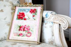 Reduced.. Antique Barbola wood Frame Victorian by DustyDaisy