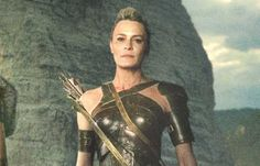 Robin Wright as General Antiope in Wonder Woman
