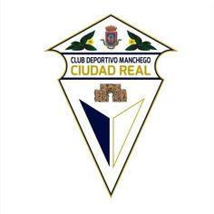 2009, CD Manchego Ciudad Real (Ciudad Real, Castilla-La Mancha, España) #CDManchegoCiudadReal #CiudadReal #Castilla #LaMancha (L19714) Soccer, Football, Logos, Football Team, Flags, Legends, City, Sports, Futbol