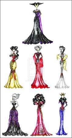 Cosplay a queen. These Disney villain dresses are so cool! - 15 Disney Cosplay Ideas - The Gowns Disney Nerd, Arte Disney, Disney Fan Art, Disney Style, Disney Love, Disney Magic, Disney And Dreamworks, Disney Pixar, Disney Characters
