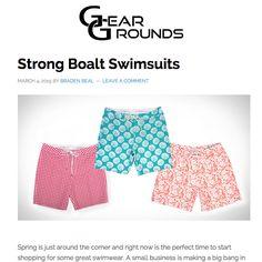 Thank you @geargrounds for this feature on Strong Boalt http://geargrounds.com/strong-boalt-swimsuits/ #strongboalt #menswear #mensstyle #swimwear #boardshorts #sportswear #palmbeach