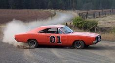 The Dukes of Hazard - General Lee car. 70's Dodge Charger. What a beast!!