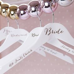 The original, beautifully bespoke wedding hanger, with engraved detail - perfect for really standing out on the big day!Create a rustic or romantic vintage feel with an ivory, cornflower blue or rose pink grosgrain bow, either left blank or with personalised hand stamped wording on the bow. Would you like it gift wrapped? Our turquoise gift wrap comes with a contrasting red or silver curled ribbon with the option of adding a handwritten card. Wrapped carefully by us to keep things simple…