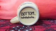 You're One In A Minion Coffee Mug with Bottom joke by embedit