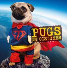 NEW Pugs In Costumes (Hardback)