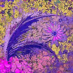 Fern Flower Pattern #7;Saundramylesart