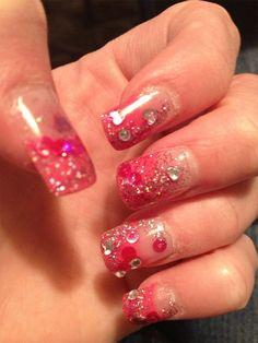 money green powder acrylic nails  acrylic nails nail art