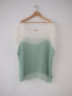 s/s collection||color block tunic(linen+flax)  #hendriklou