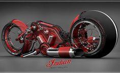 Indian Gorilla V4 Motorcycle By Vasilatos Ianis....crazy !