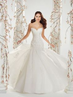 Style Y11407 (Catelyn) wedding dress • The amazing Sophia Tolli collection for spring 2014 is full of sparkling, sexy gowns