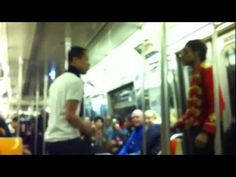 NYC Subway Train Michael Jackson Dance Battle