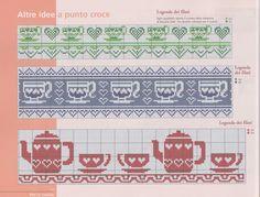 Gallery.ru / Фото #17 - 26 - geminiana Cross Stitch Borders, Cross Stitching, Cross Stitch Patterns, Crochet Patterns, Swedish Weaving, Cross Stitch Kitchen, Alpha Patterns, Stitch 2, Embroidery Techniques