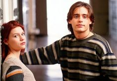 "Angela and Jordan from ""My So Called Life"" 