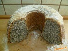 Hrnková maková bábovka Classic Cake, Bread, Food, Brot, Essen, Baking, Meals, Breads, Buns
