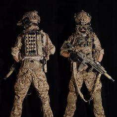 mah DEVGRU airsoft loadout AOR1, HK416, GPNVG