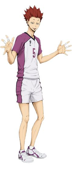 I love this guy already. (Probably cuz he reminds me of Bokuto....)