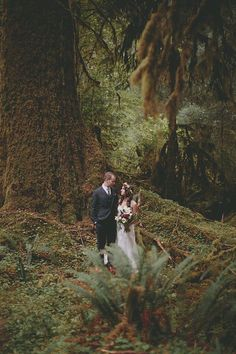 Stephanie and Myles' 0 Guest  Olympic National Park Elopement. See their amazing photos by Tyler Ray Photography here........... @intimateweddings.com #elopements #realwedding