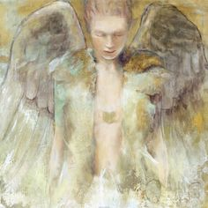 Guardian Angel  Art Print  by Elvira Amrhein