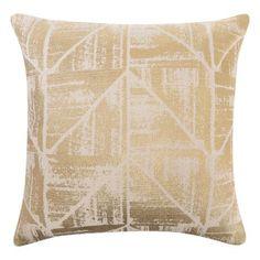 AURELIEN cushion in gold colour | freedom Furniture and Homewares