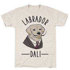 Show your love for Labrador Retrievers and Art History with this Salvador Dali inspired design. Salvador Dali, Teacher Wardrobe, Teacher Clothes, Art Teacher Outfits, Teaching Outfits, Teacher Style, Work Outfits, Projects For Kids, Art Projects
