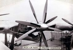 Saunders Roe Princess Flying Boat engine