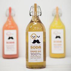 Moustache beverage