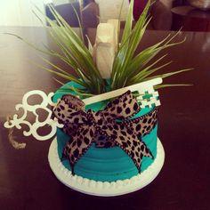 Whimsical themed Happy Birthday Cake